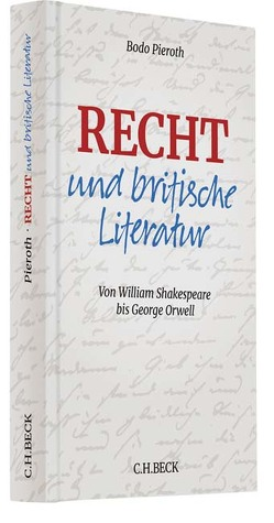 Recht und britische Literatur von Pieroth,  Bodo