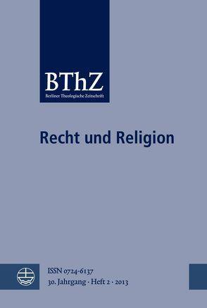 Recht und Religion von Breytenbach,  Cilliers
