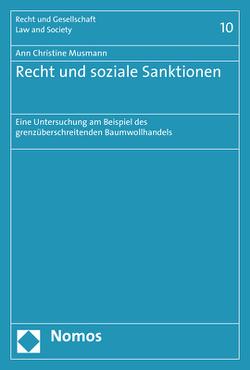 Recht und soziale Sanktionen von Musmann,  Ann Christine
