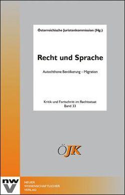 Recht und Sprache von Österreichische Juristenkommission