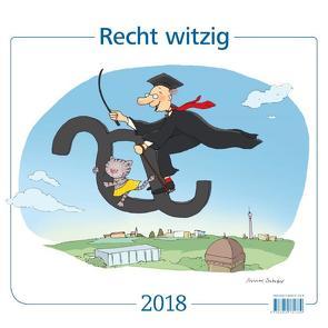Recht witzig 2018 von Schober,  Michael