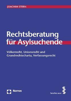 Rechtsberatung für Asylsuchende von Stern,  Joachim