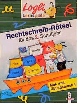 Rechtschreib-Rätsel für das 2. Schuljahr von Beurenmeister,  Corina, Stubner,  Angelika