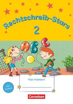 Rechtschreib-Stars – Neubearbeitung 2018 / 2. Schuljahr – Übungsheft von Duscher,  Sandra, Petz,  Ulrich, Schmidt,  Irmgard