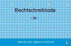 Rechtschreiblade – ie von Holub,  Barbara