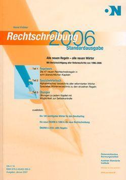 Rechtschreibung 2006 von Fröhler,  Horst