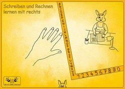 """Rechtshänder Schreibunterlage """"Hasenkind"""" von Steinkopf,  Frank"""