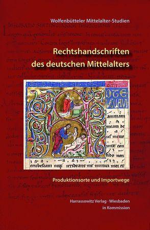 Rechtshandschriften des deutschen Mittelalters von Carmassi,  Patrizia, Drossbach,  Gisela