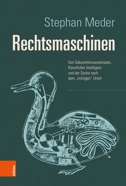 Rechtsmaschinen von Meder,  Stephan