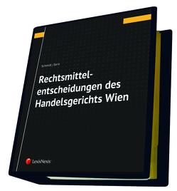 Rechtsmittelentscheidungen des Handelsgerichts Wien von Saria,  Gerhard, Schmidt,  Alexander