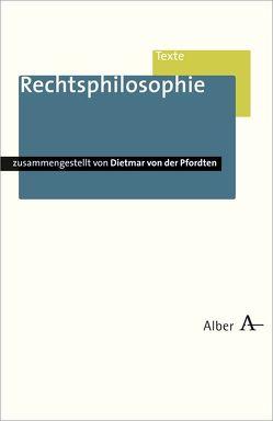 Rechtsphilosophie von Pfordten,  Dietmar von der