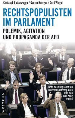 Rechtspopulisten im Parlament von Butterwegge,  Christoph, Hentges,  Gudrun, Wiegel,  Gerd