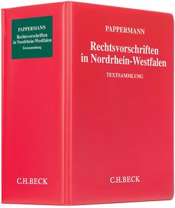 Rechtsvorschriften in Nordrhein-Westfalen von Mokros,  Reinhard, Pappermann,  Ernst