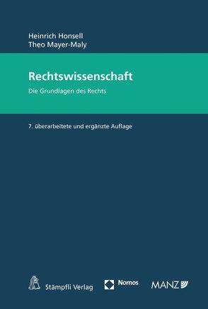 Rechtswissenschaft von Honsell,  Heinrich, Mayer-Maly,  Theo