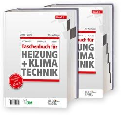 Recknagel – Taschenbuch für Heizung und Klimatechnik 79. Ausgabe 2019/2020 – Basisversion von Albers,  Karl-Josef