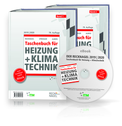 Recknagel – Taschenbuch für Heizung und Klimatechnik 79. Ausgabe 2019/2020 – Premiumversion von Albers,  Karl-Josef