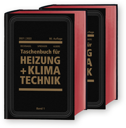 Recknagel – Taschenbuch für Heizung und Klimatechnik 80. Ausgabe 2019/2020 – E-Book PDF als Download von Albers,  Karl-Josef