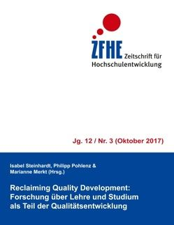 Reclaiming Quality Development: von Merkt,  Marianne, Pohlenz,  Philipp, Steinhardt,  Isabel