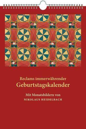 Reclams immerwährender Geburtstagskalender von Heidelbach,  Nikolaus