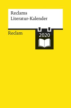 Reclams Literatur-Kalender 2020