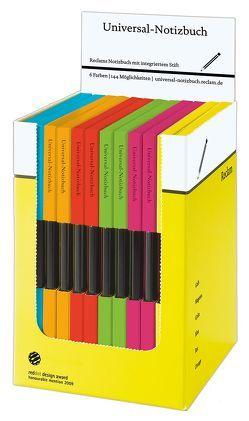 Reclams Universal-Notizbuch (12 Exemplare in Box) von Blum,  Wolfgang