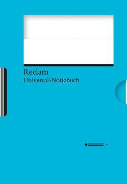 Reclams Universal-Notizbuch (blau) von Blum,  Wolfgang
