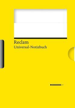 Reclams Universal-Notizbuch (gelb) von Blum,  Wolfgang