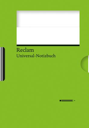 Reclams Universal-Notizbuch (grün) von Blum,  Wolfgang