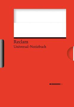 Reclams Universal-Notizbuch (rot) von Blum,  Wolfgang