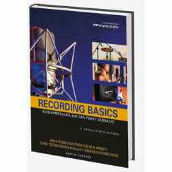 Recording Basics von Hömberg,  Martin