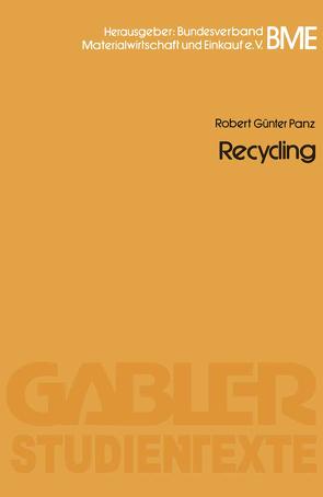 Recycling von Panz,  Robert Günter