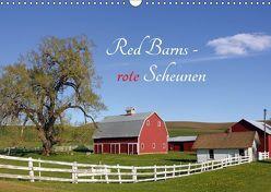 Red Barns – rote Scheunen (Wandkalender 2019 DIN A3 quer) von Grosskopf,  Rainer