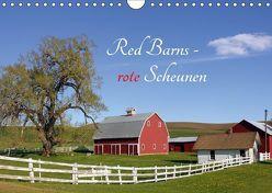 Red Barns – rote Scheunen (Wandkalender 2019 DIN A4 quer)