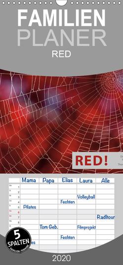 RED! – Familienplaner hoch (Wandkalender 2020 , 21 cm x 45 cm, hoch) von Herzog,  Thomas, www.bild-erzaehler.com