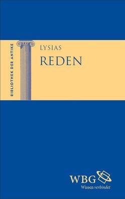 Reden von Baier,  Thomas, Brodersen,  Kai, Hose,  Martin, Huber,  Ingeborg, Lysias