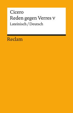 Reden gegen Verres V von Cicero, Krüger,  Gerhard
