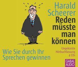 Reden müsste man können von Bergmann,  Gisa, Piedesack,  Gordon, Scheerer,  Harald