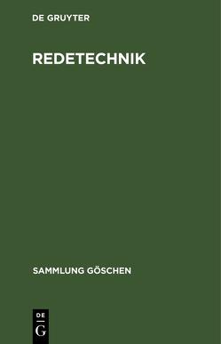 Redetechnik von Biehle,  Herbert