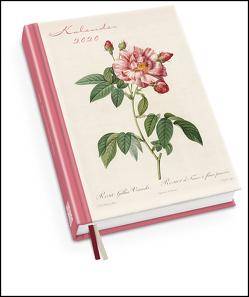 Redoutés Rosen Taschenkalender 2020 – Terminplaner mit Wochenkalendarium – Format 11,3 x 16,3 cm von DUMONT Kalenderverlag, Redouté,  Pierre-Joseph