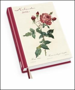Redoutés Rosen Taschenkalender 2021 ‒ Terminplaner mit Wochenkalendarium ‒ Format 11,3 x 16,3 cm von Redouté,  Pierre-Joseph