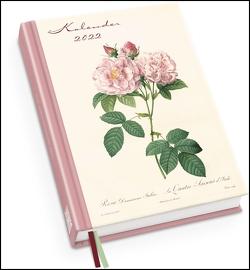 Redoutés Rosen Taschenkalender 2022 ‒ Terminplaner mit Wochenkalendarium ‒ Format 11,3 x 16,3 cm von Redouté,  Pierre-Joseph
