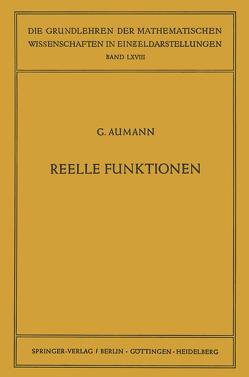 Reelle Funktionen von Aumann,  Georg