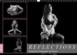 Reflections 2019 – ästhetische Fotografien im Wasser (Wandkalender 2019 DIN A3 quer) von Richter,  Dirk
