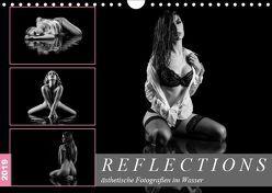 Reflections 2019 – ästhetische Fotografien im Wasser (Wandkalender 2019 DIN A4 quer) von Richter,  Dirk