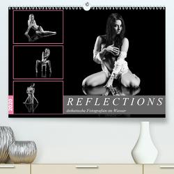 Reflections 2020 – ästhetische Fotografien im Wasser (Premium, hochwertiger DIN A2 Wandkalender 2020, Kunstdruck in Hochglanz) von Richter,  Dirk