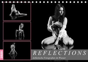 Reflections 2020 – ästhetische Fotografien im Wasser (Tischkalender 2020 DIN A5 quer) von Richter,  Dirk