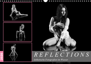 Reflections 2020 – ästhetische Fotografien im Wasser (Wandkalender 2020 DIN A3 quer) von Richter,  Dirk