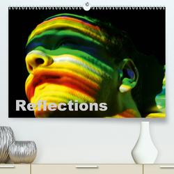 Reflections (Premium, hochwertiger DIN A2 Wandkalender 2020, Kunstdruck in Hochglanz) von J. Strutz,  Rudolf