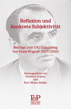 Reflexion und konkrete Subjektivität von Krijnen,  Christian, Zeidler,  Kurt Walter