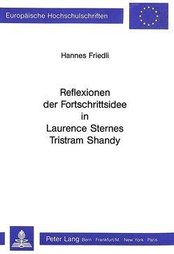 Reflexionen der Fortschrittsidee in Laurence Sternes Tristram Shandy